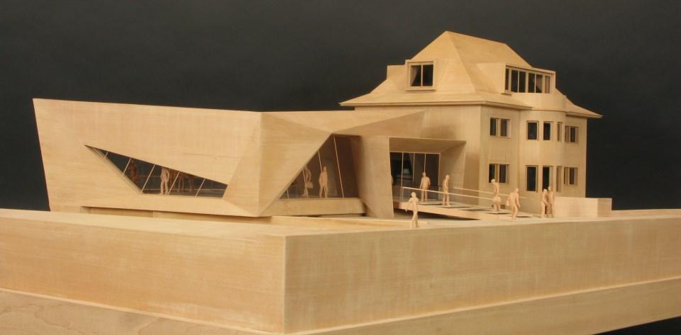 Modellbau Gunter Dowe Berlin - Projekt Dr. Max Näder Haus