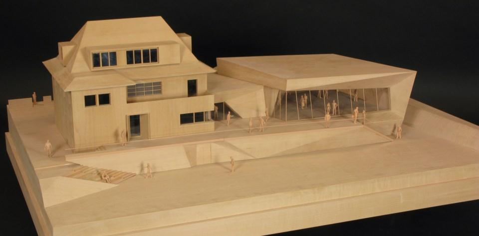 Modellbau Haus Material